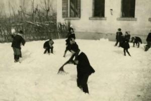 partita-a-palle-di-neve